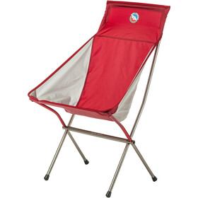 Big Agnes Big Six Sedia Da Campeggio, red/gray